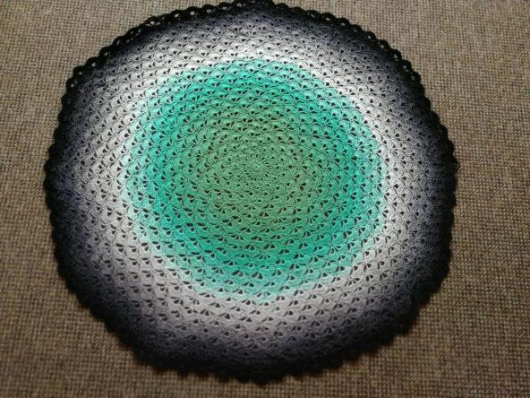 Crochet Vlog 090319 Lotus Flower Blanket And Audrey Ii Begins